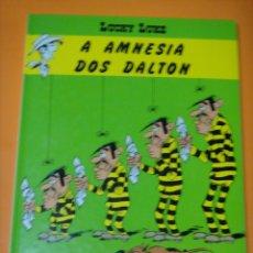 Cómics: LUCKY LUKE A AMNESIA DOS DALTON. EN GALLEGO. XERAIS 1.992. VERSIÓN GALEGA DE ENRIQUE HARGUINDEY. Lote 221112436