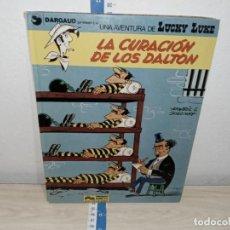 Cómics: TEBEO COMICS LUCKY LUKE LA CURACIÓN DE LOS DALTON GRIJALBO. Lote 221173405