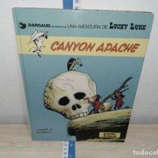 Cómics: TEBEO COMICS LUCKY LUKE CANYON APACHE GRIJALBO. Lote 221173818