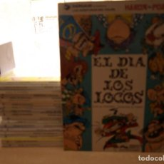 Cómics: LAS AVENTURAS DEL GRAN VISIR IZNOGUD - LOTE DEL Nº 1 AL Nº 19 - TAPADURA - EDICIONES JUNIOR. Lote 221240067