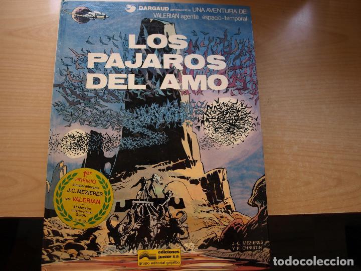 Cómics: VALERIAN - AGENTE ESPACIO-TEMPORAL - LOTE DE 7 TOMOS - TAPA DURA - SE VENDEN SUELTOS - Foto 5 - 221256242