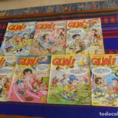 Cómics: GUAI! NºS 19, 23, 24, 30, 31, 55 Y 64. GRIJALBO JUNIOR 1986. 140 PTS.. Lote 221363052
