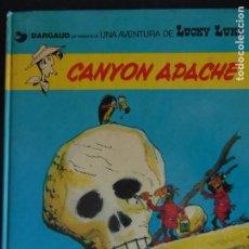 Cómics: LUCKY LUKE: CANYON APACHE. Lote 221391650