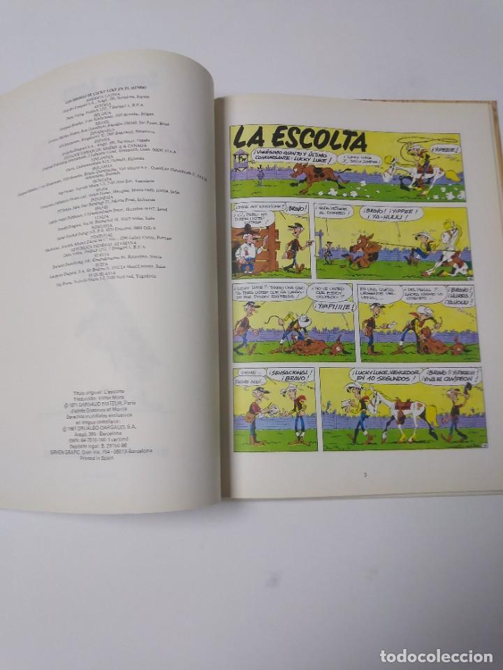 Cómics: Lucky Luke número 18 La Escolta 1981 Grijalbo-Dargaud - Foto 5 - 221512035