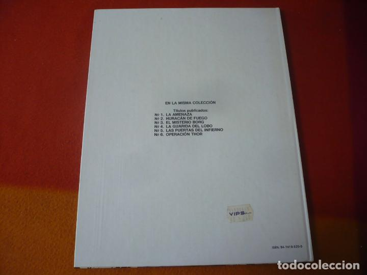 Cómics: LEFRANC 6 OPERACION THOR ( J. MARTIN CHAILLET) ¡MUY BUEN ESTADO! JUNIOR 1989 TAPA DURA GRIJALBO - Foto 2 - 221540233