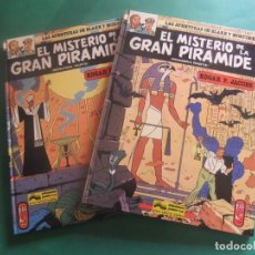Cómics: LAS AVENTURAS DE BLAKE Y MORTIMER NUMEROA 1 Y 2 EL SECRETO DE LA GRAN PIRAMIDE GRIJALBO. Lote 221551687