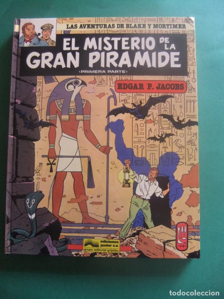 Cómics: LAS AVENTURAS DE BLAKE Y MORTIMER NUMEROA 1 Y 2 EL SECRETO DE LA GRAN PIRAMIDE GRIJALBO - Foto 2 - 221551687