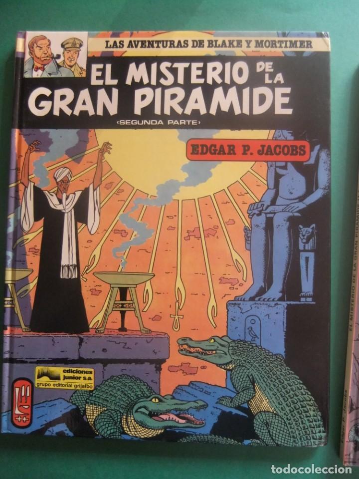 Cómics: LAS AVENTURAS DE BLAKE Y MORTIMER NUMEROA 1 Y 2 EL SECRETO DE LA GRAN PIRAMIDE GRIJALBO - Foto 3 - 221551687