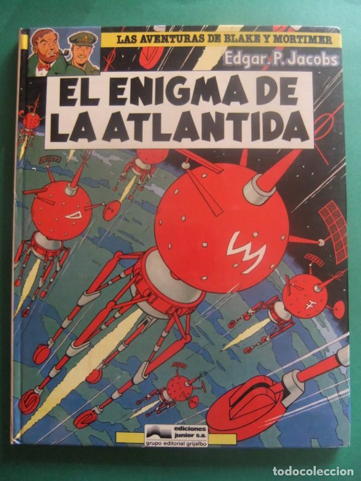 LAS AVENTURAS DE BLAKE Y MORTIMER NUMERO4 EL ENIGMA DE LA ATLANTIDA GRIJALBO (Tebeos y Comics - Grijalbo - Blake y Mortimer)