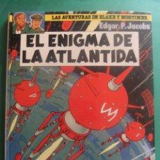 Cómics: LAS AVENTURAS DE BLAKE Y MORTIMER NUMERO4 EL ENIGMA DE LA ATLANTIDA GRIJALBO. Lote 221551887
