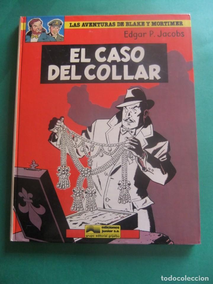 LAS AVENTURAS DE BLAKE Y MORTIMER NUMERO 7 EL CASO DEL COLLAR GRIJALBO (Tebeos y Comics - Grijalbo - Blake y Mortimer)