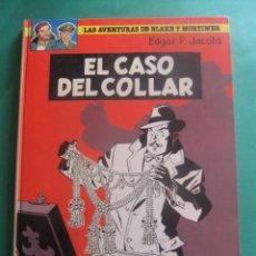 Cómics: LAS AVENTURAS DE BLAKE Y MORTIMER NUMERO 7 EL CASO DEL COLLAR GRIJALBO. Lote 221552495