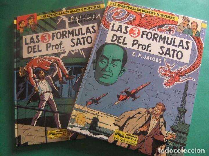 LAS AVENTURAS DE BLAKE Y MORTIMER NUMEROS 8 Y 12 LAS 3 FORMULAS DEL PROFESOR SATO GRIJALBO (Tebeos y Comics - Grijalbo - Blake y Mortimer)