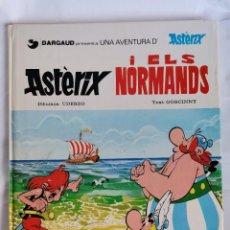 Cómics: ASTÈRIX I ELS NORMANDS TAPA DURA 1984 EN CATALAN. Lote 221571802