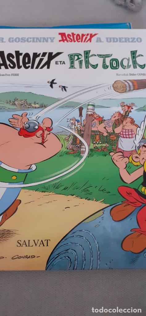 ASTERIX ETA PIKTOAK (Tebeos y Comics - Grijalbo - Asterix)