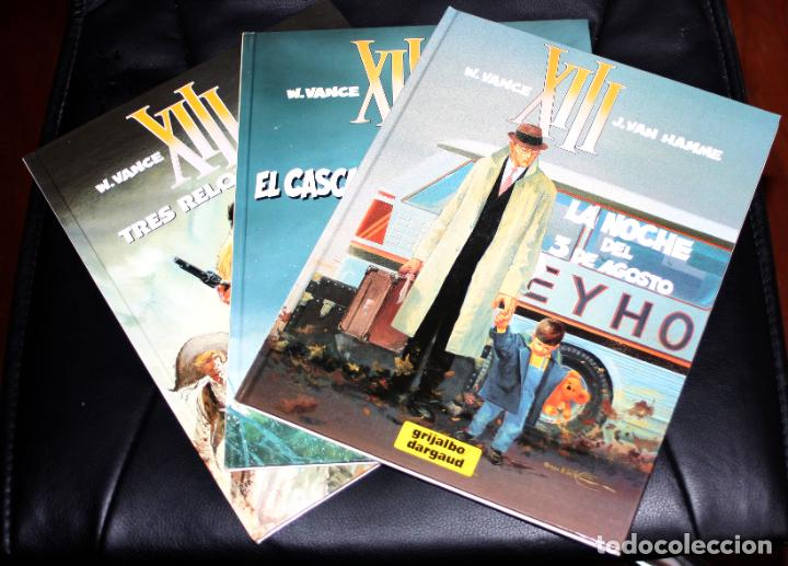 XIII (DE VAN HAMME & VANCE) Nº 07 + Nº 10 + Nº 11 ( OFERTA LOTE) (Tebeos y Comics - Grijalbo - XIII)
