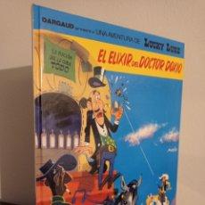 Cómics: EL ELIXIR DEL DOCTOR DOXIO - LUCKY LUKE - GRIJALBO DARGAUD - COMO NUEVO. Lote 221624056