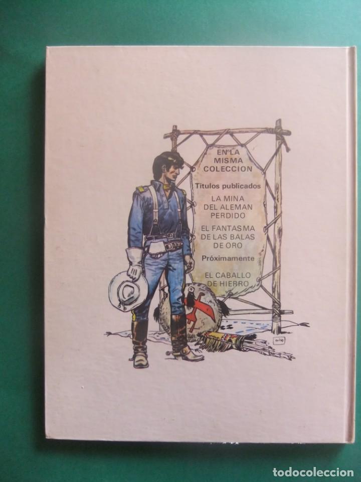 Cómics: EL TENIENTE BLUEBERRY Nº 2 EL FANTASMA DE LAS BALAS BE ORO GRIJALBO 1978 - Foto 2 - 221647152