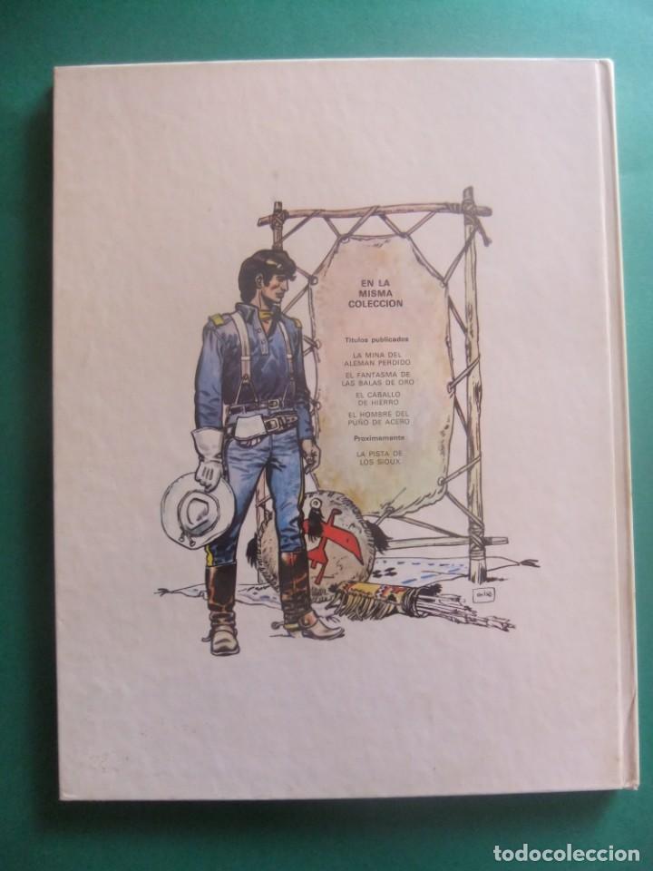 Cómics: EL TENIENTE BLUEBERRY Nº 4 EL HOMBRE DEL PUÑO DE HIERRO GRIJALBO 1978 - Foto 2 - 221647347