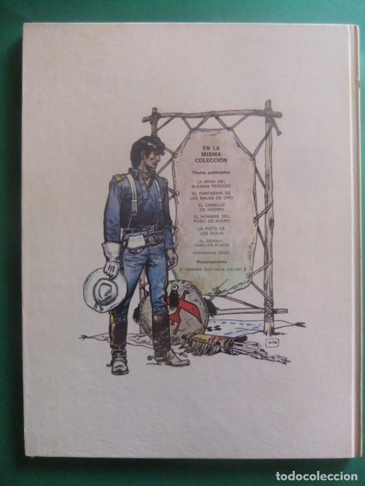 Cómics: EL TENIENTE BLUEBERRY Nº 7 CHIHUAHUA PEARL GRIJALBO 1979 - Foto 2 - 221647480