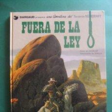 Cómics: EL TENIENTE BLUEBERRY Nº 10 FUERA DE LA LEY GRIJALBO 1979. Lote 221647597