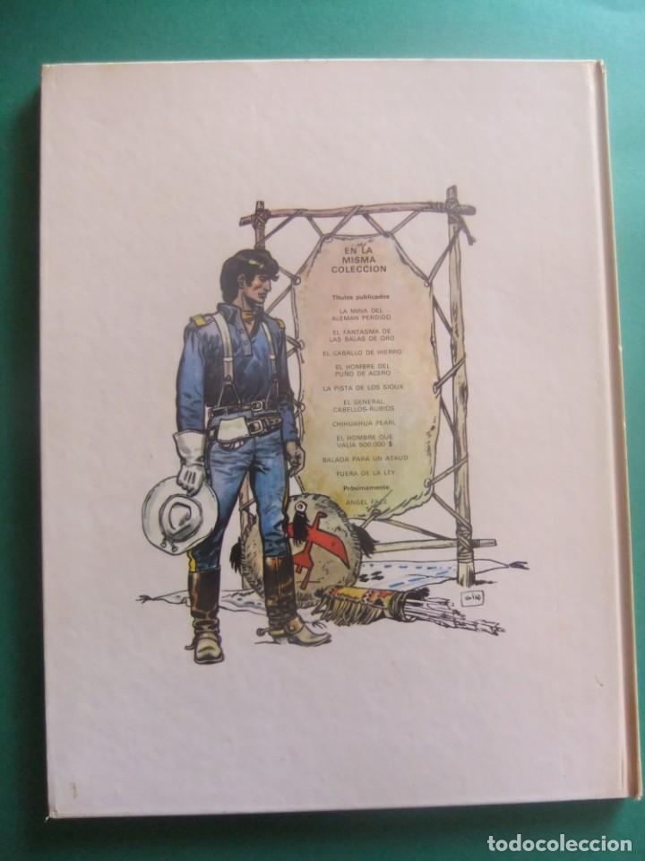 Cómics: EL TENIENTE BLUEBERRY Nº 10 FUERA DE LA LEY GRIJALBO 1979 - Foto 2 - 221647597