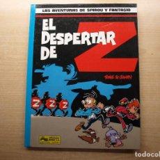 Comics : LAS AVENTURAS DE SPIROU Y FANTASIO - EL DESPERTAR DE Z - EDICIONES JUNIOR - NUEVO. Lote 221651431