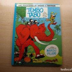 Comics : LAS AVENTURAS DE SPIROU Y FANTASIO - TEMBO TABÚ - EDICIONES JUNIOR - NUEVO. Lote 221652157