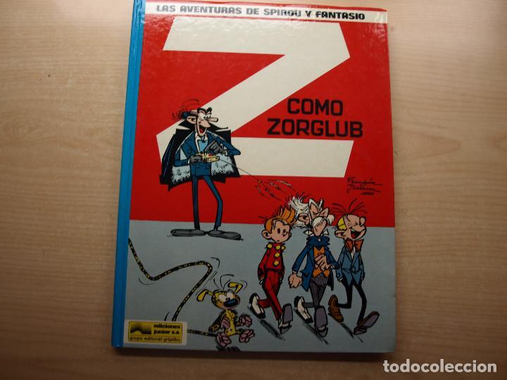 LAS AVENTURAS DE SPIROU Y FANTASIO - Z COMO ZORGLUB - EDICIONES JUNIOR - NUEVO (Tebeos y Comics - Grijalbo - Spirou)