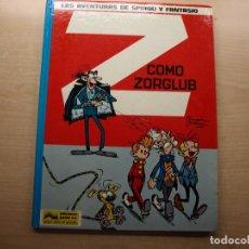 Cómics: LAS AVENTURAS DE SPIROU Y FANTASIO - Z COMO ZORGLUB - EDICIONES JUNIOR - NUEVO. Lote 221652497