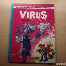 Comics : LAS AVENTURAS DE SPIROU Y FANTASIO - VIRUS - EDICIONES JUNIOR - NUEVO. Lote 221652697