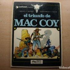 Cómics: EL TRIUNFO DE MAC COY - NUMERO 4 - AÑO 1979 - GRIJALBO/DARGAUD - BUEN ESTADO. Lote 221658167