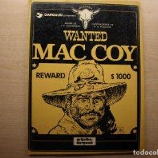 Cómics: WANTED MAC COY - NUMERO 5 - AÑO 1980 - GRIJALBO/DARGAUD - BUEN ESTADO. Lote 221658637