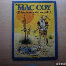 Cómics: MAC COY - EL FANTASMA DEL ESPAÑOL - NUMERO 16 - AÑO 1991 - GRIJALBO/DARGAUD - BUEN ESTADO. Lote 221659166