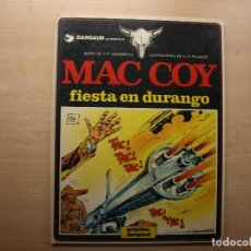 Cómics: MAC COY - FIESTA EN DURANGO - NUMERO 10 - AÑO 1983 - GRIJALBO/DARGAUD - BUEN ESTADO. Lote 221660591