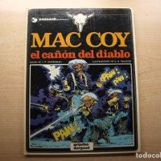 Cómics: MAC COY - EL CAÑON DEL DIABLO - NUMERO 9 - AÑO 1982 - GRIJALBO/DARGAUD - BUEN ESTADO. Lote 221661127