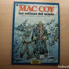Cómics: MAC COY - LAS COLINAS DEL MIEDO - NUMERO 13 - AÑO 1987 - GRIJALBO/DARGAUD - BUEN ESTADO. Lote 221662182