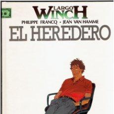 Cómics: * EL HEREDERO * Nº 1 LARGO WINCH * FRANCQ /VAN HAMME * GRUPO GRIJALBO/JUNIOR 1992 *. Lote 221666942