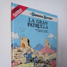 Cómics: LA GRAN PATRULLA - CASACAS AZULES - CAUVIN SALVERIUS - GRIJALBO. Lote 221679005
