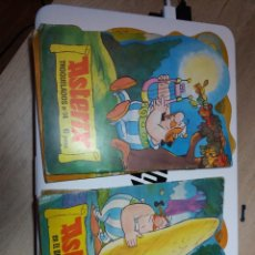Comics : 7 COMICS TOQUEADOS ASTERIX, EDITORIAL BRUGUERA NUMEROS 9,10,12,13,14,15,16 VER FOTOS. Lote 221827771