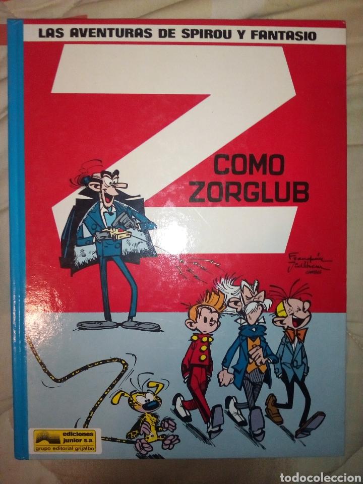 SPIROU Z COMO ZORGLUB GRIJALBO (Tebeos y Comics - Grijalbo - Spirou)