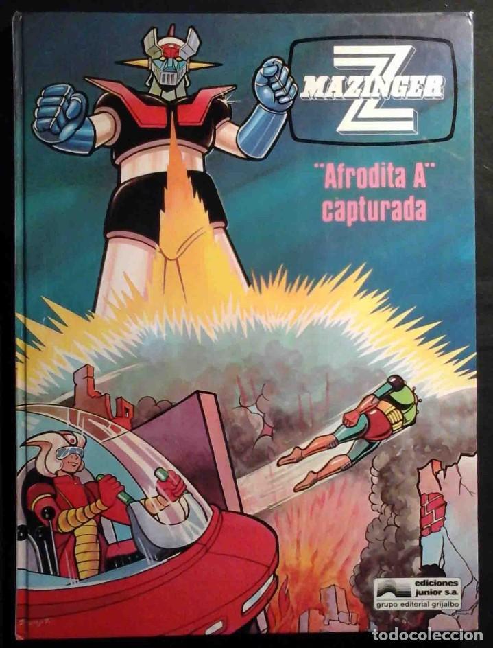 MAZINGER Z Nº 3 AFRODITA A CAPTURADA - JUNIOR / GRIJALBO 1978 (Tebeos y Comics - Grijalbo - Otros)