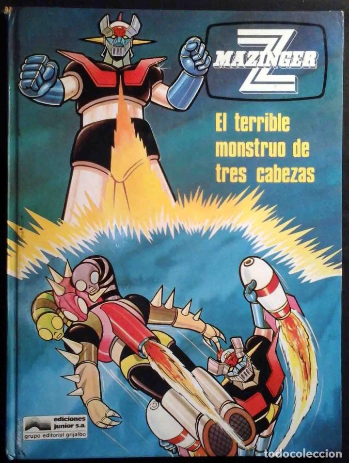MAZINGER Z Nº 5 EL TERRIBLE MONSTRUO DE TRES CABEZAS - JUNIOR / GRIJALBO 1978 (Tebeos y Comics - Grijalbo - Otros)
