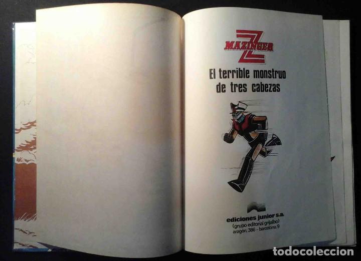 Cómics: Mazinger Z Nº 5 El terrible monstruo de tres cabezas - Junior / Grijalbo 1978 - Foto 3 - 221848762