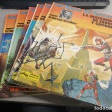 Cómics: LOS DIOSES DEL UNIVERSO / SEGÚN ERICH VON DÄNIKEN / COMPLETA 6 TOMOS / ED. JUNIOR 1979. Lote 221940151