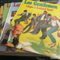 Cómics: LOS GENTLEMEN / CASTELLI - TACCONI / COMPLETA 5 TOMOS / ED. JUNIOR 1980. Lote 221940952