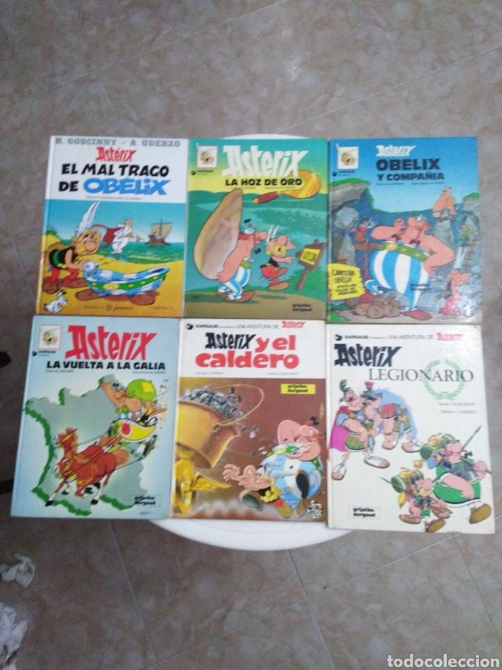 LOTE DE 6 CÓMIC ASTERIX ( TAPA DURA ) (Tebeos y Comics - Grijalbo - Asterix)
