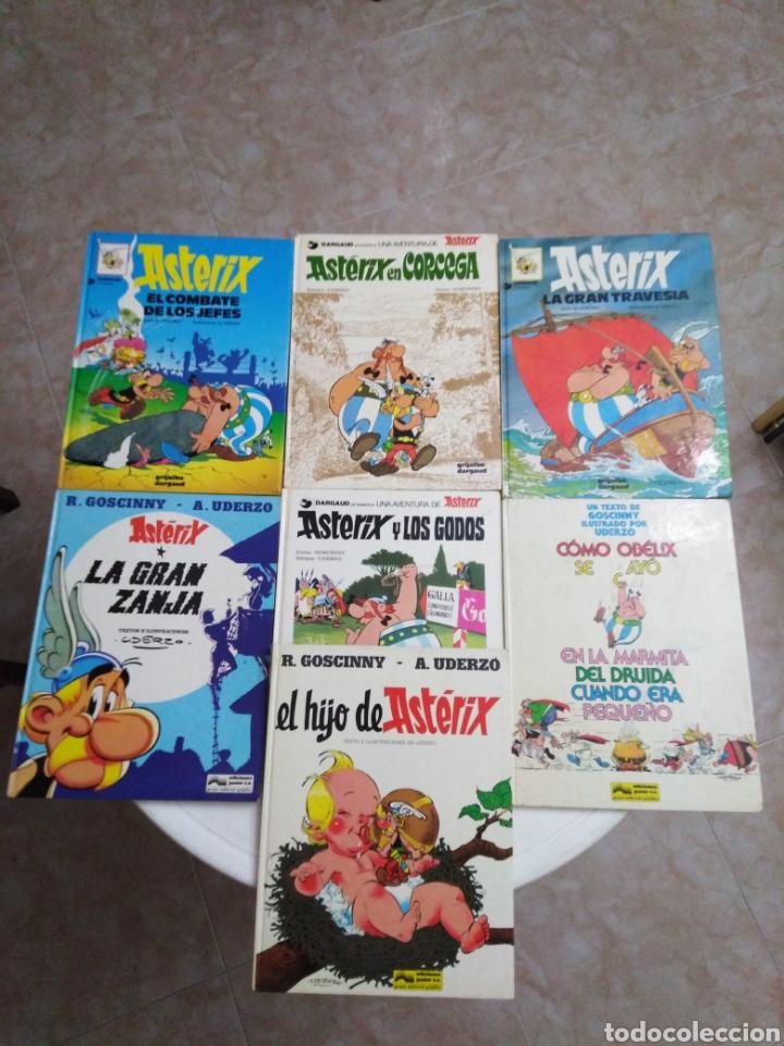 LOTE DE 7 CÓMIC DE ASTERIX ( TAPA DURA ) (Tebeos y Comics - Grijalbo - Asterix)