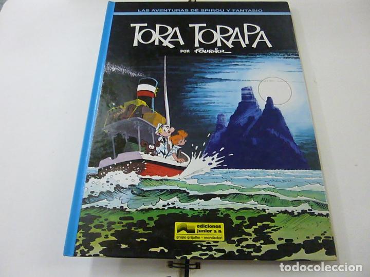 LAS AVENTURAS DE SPIROU Y FANTASIO Nº 36 TORA TORAPA. GRIJALBO 1994. TAPA DURA.- N 10 (Tebeos y Comics - Grijalbo - Spirou)