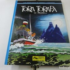 Cómics: LAS AVENTURAS DE SPIROU Y FANTASIO Nº 36 TORA TORAPA. GRIJALBO 1994. TAPA DURA.- N 10. Lote 222048457